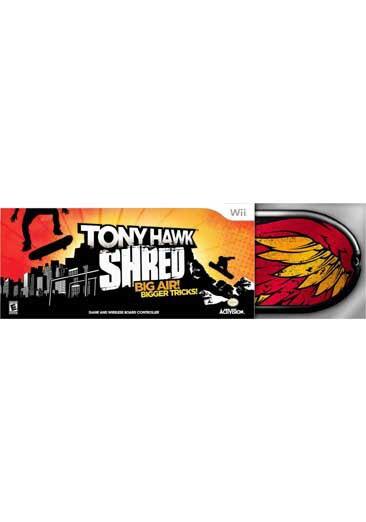 Wii - Tony Hawk: Shred