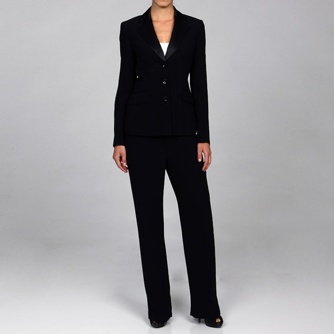 Tuxedo Inspired Pant Suit