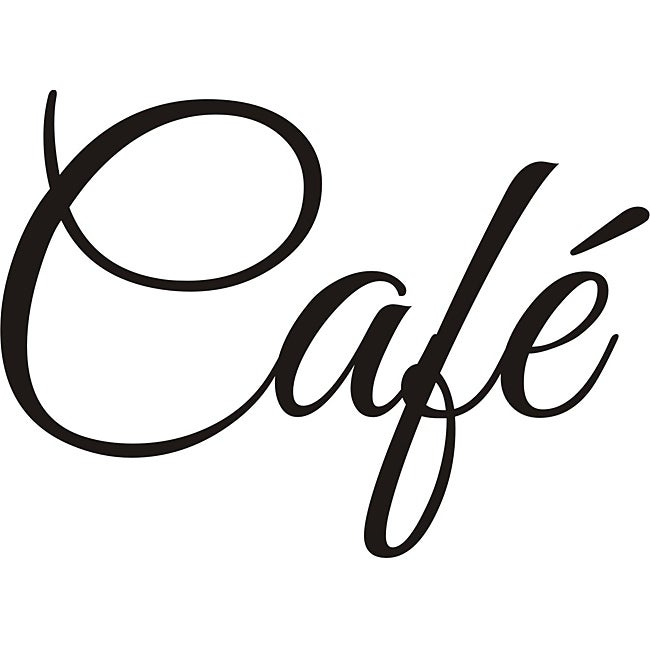 Cafe Vinyl Wall Art Overstock Shopping Top Rated Prints