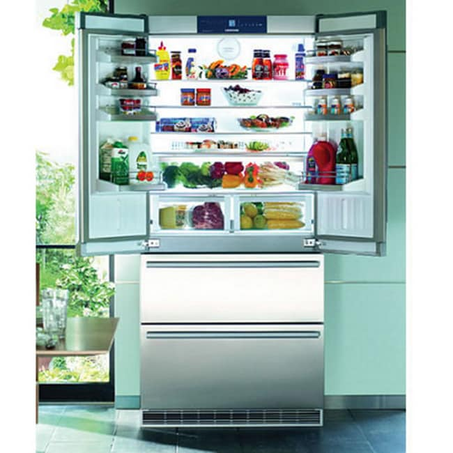 Liebherr 36-inch Stainless Steel Counter-Depth French Door Refrigerator