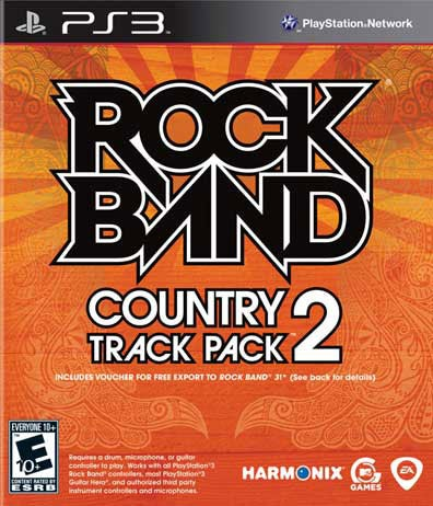 PS3 - Rock Band Country Track Pack Volume 2 - by Electronics Arts