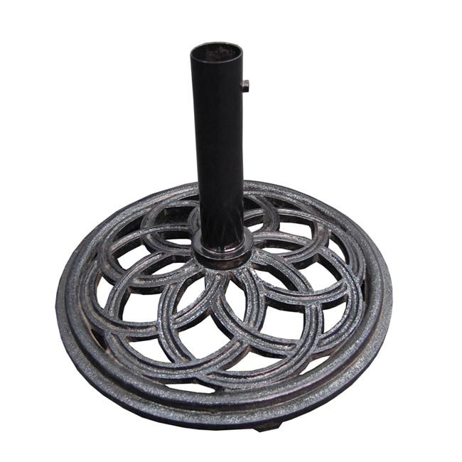 Cast Iron Black Umbrella Base