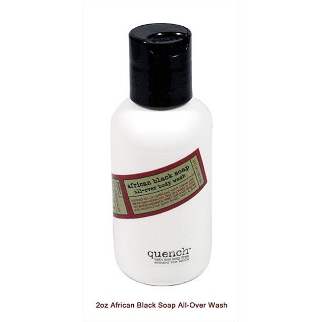 African Black Soap 2-oz Allover Body Wash (Ghana)