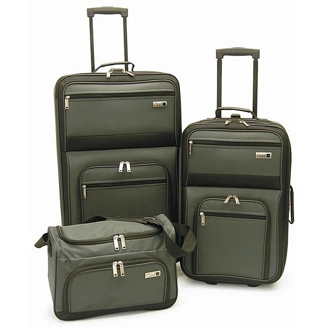 Ciao Lightweight 3-piece Luggage Set