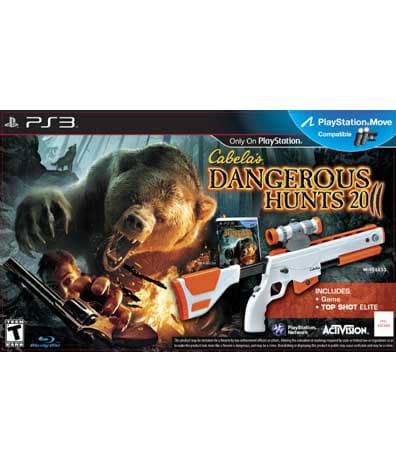 PS3 - Cabela's Dangerous Hunts 2011 Bundle