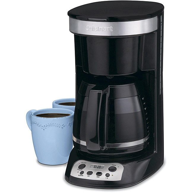 Cuisinart DCC-750BK Flavor Brew 12-Cup Black Coffeemaker