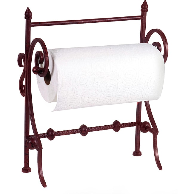 Provence Paper Towel Holder