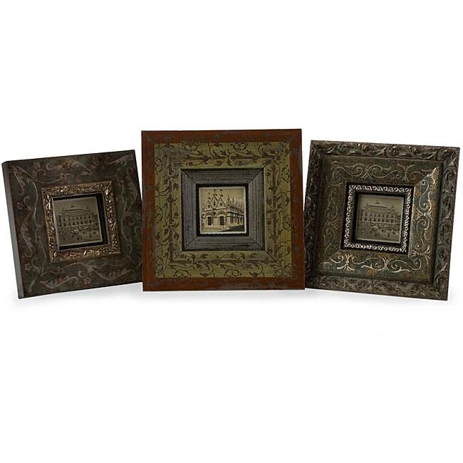 Provence La Siroque 3x3-inch 3-piece Frame Set