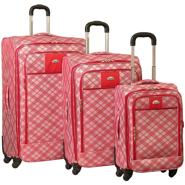 Wisdom Fashion 3-piece Expandable Luggage Set