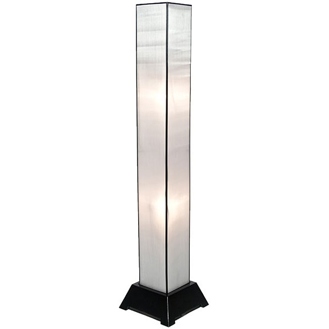 Tana Silk White Floor Lamp (Vietnam)