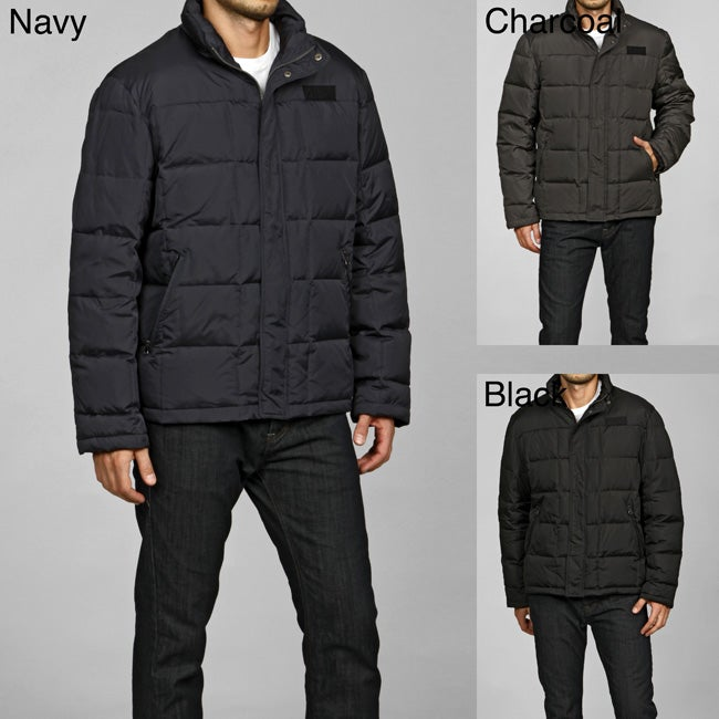Chaps Men's Down-filled Puffy Coat