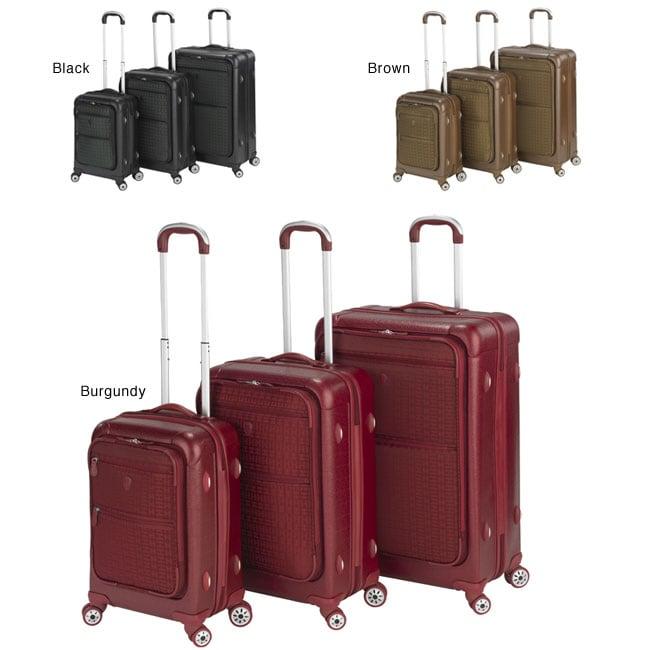 Heys USA Signature 3-piece Lightweight Hybrid Luggage Set