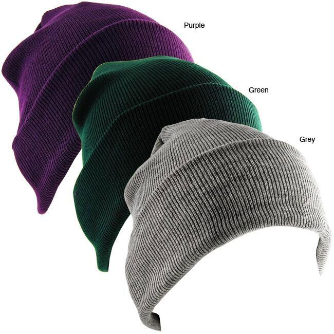 Stretch Knit Unisex Beanie