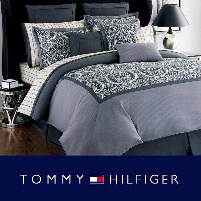 Tommy hilfiger hudson valley king size bedding ensemble with sheet set 13039082 overstock for Tommy hilfiger bedroom furniture