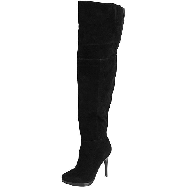 Bamboo by Journee Women's 'Addiction-69' Thigh-high Stiletto Boots