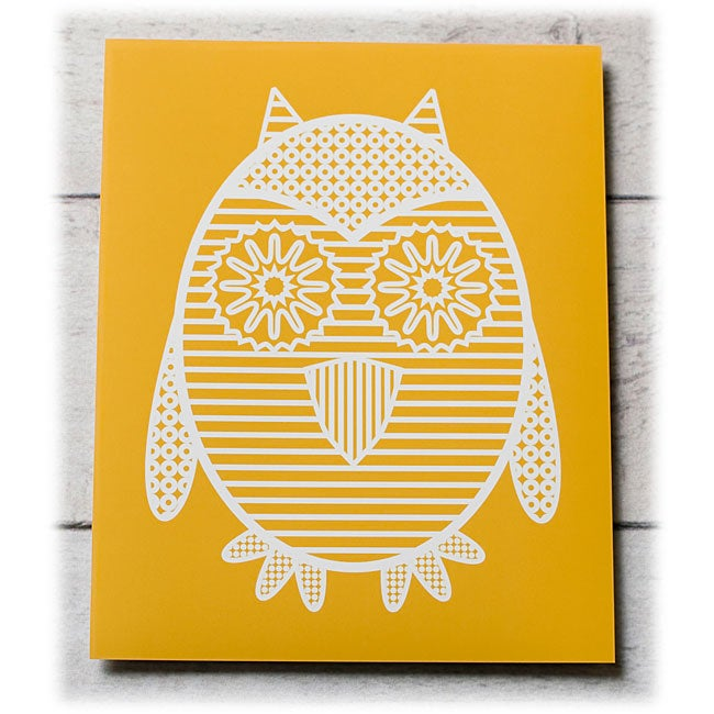Trendography Prints 'Owl' Graphic Art Print