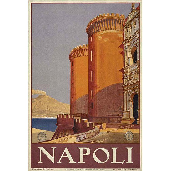 'Napoli' Gallery-wrapped Canvas