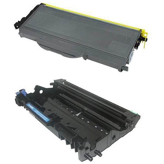 Brother TN360 DR-360 Compatible Toner Set (Black)