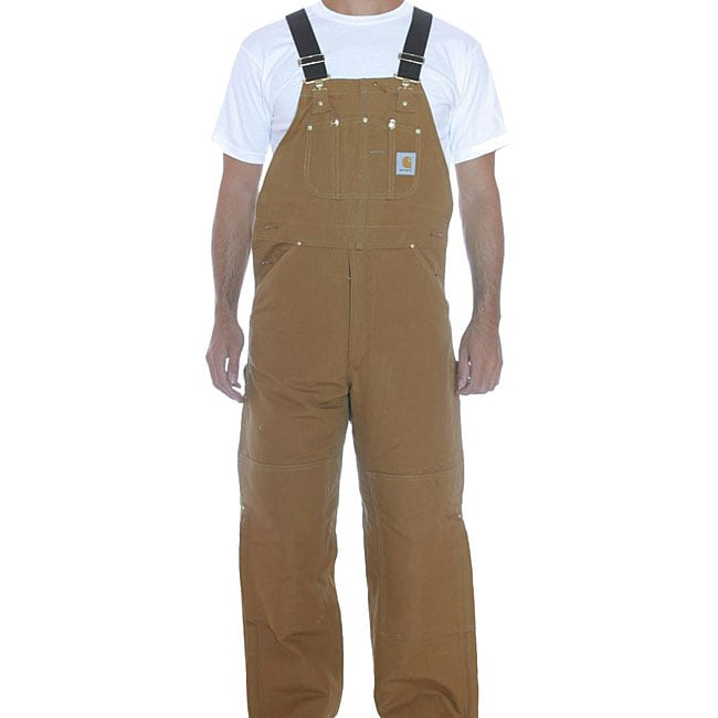 Carhartt Quilted Lined Duck Bib Overalls
