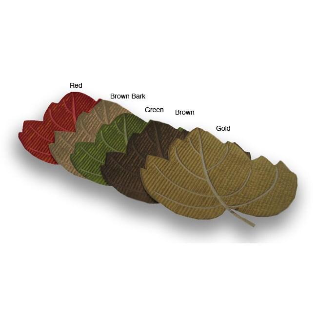 Cutout Maple Leaf Placemats (Set of 6)