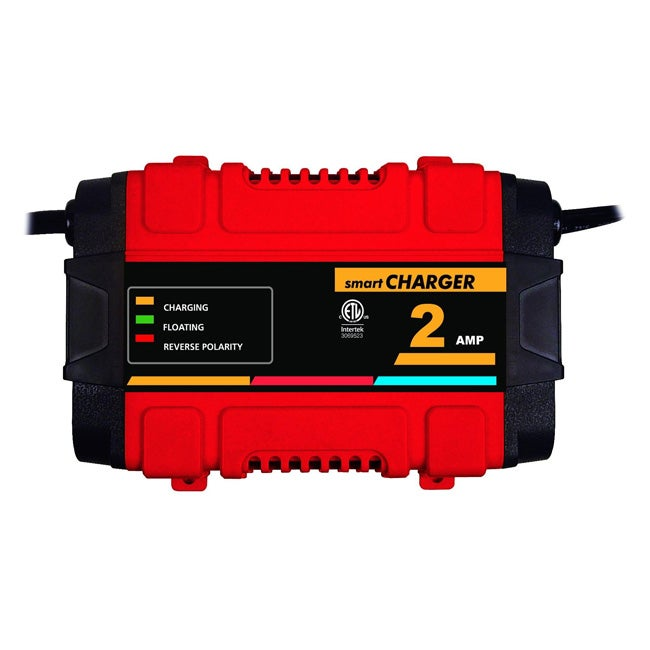 Raider Plastic 12-volt 2-ampere High-frequency Smart Battery Charger