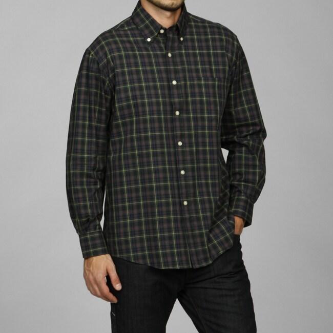 barry bricken men 39 s plaid woven shirt 13065805