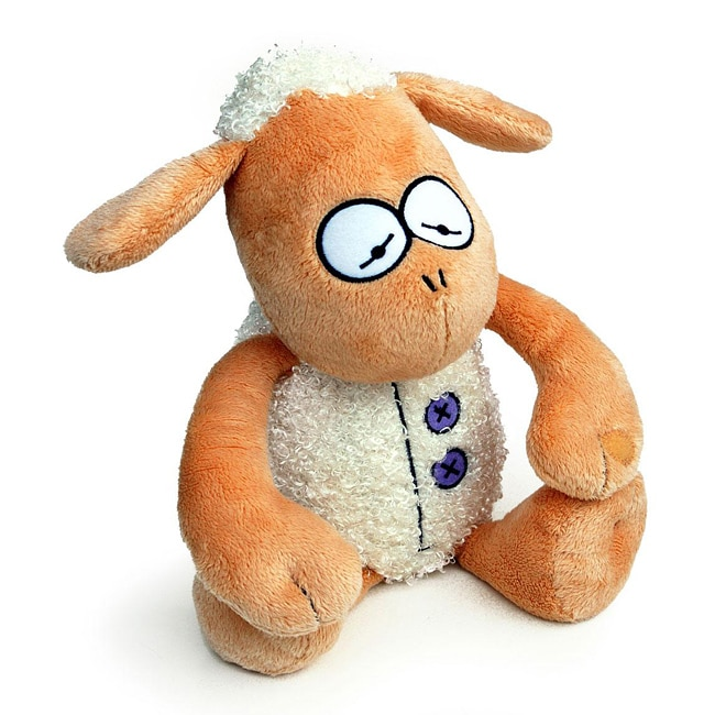 Boogaloo Sharon Sheep Booga-Bud Stuffed Animal Educational Toy