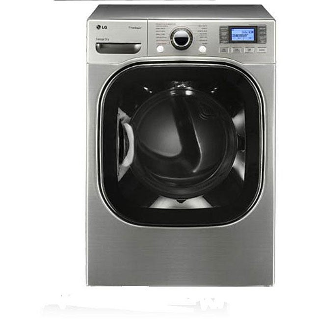 LG 7.4-cubic-foot Stainless Electric Dryer