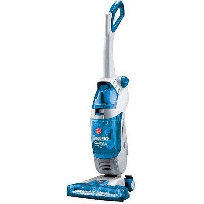 Hoover H3044 FloorMate SpinScrub Widepath Upright Hardwood Floor Vacuum