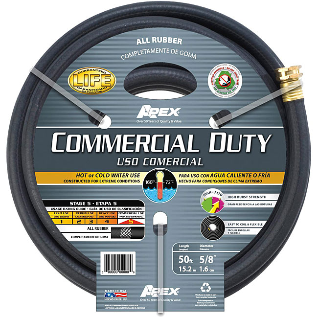 Teknor 50 foot Rubber Commercial duty Hose