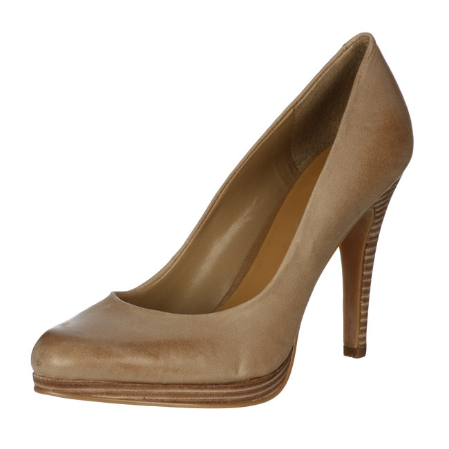 Nine West Women's 'Rocha' Leather Platform Pumps