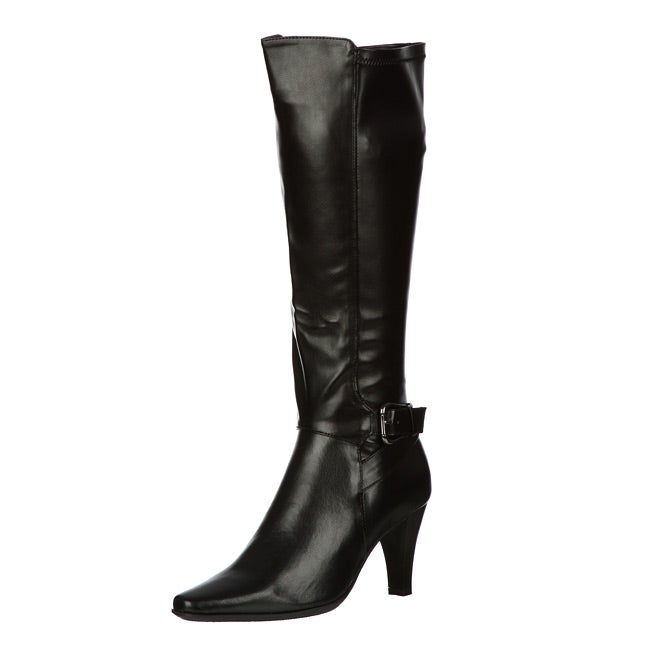 Sam & Libby Women's 'Newwave3' Tall Shaft Stretch Dress Buckle Boot