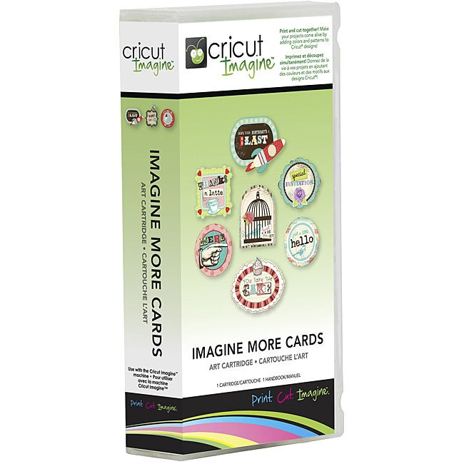 Cricut Imagine More Cards Cartridge