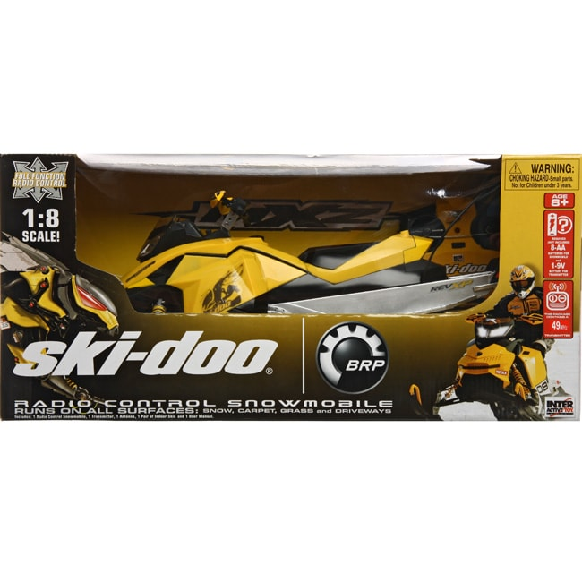 Interactive Toy Concepts 17-inch Skidoo RC Snowmobile
