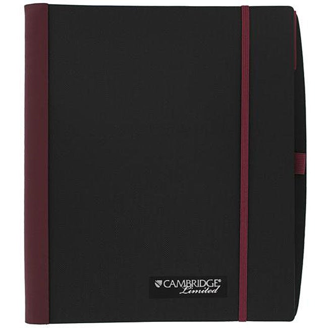 Mead Cambridge Limited Red Accents Business Notebook (Pack of 6)