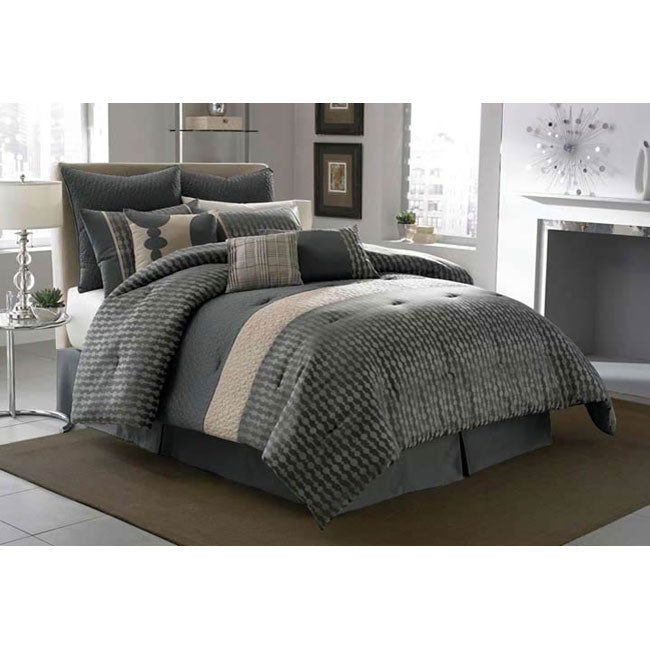 house coastline 4 piece king california king size comforter set