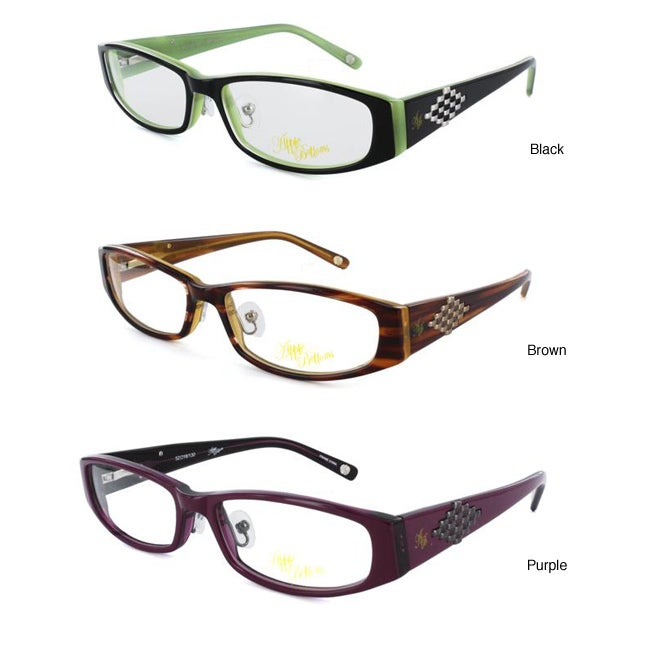 Optical Glasses Deals : Apple Bottoms Womens AB707 Eyeglasses Frames - Overstock ...