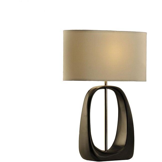 Nova Lighting 'Ode' 1-light Wood Standing Table Lamp