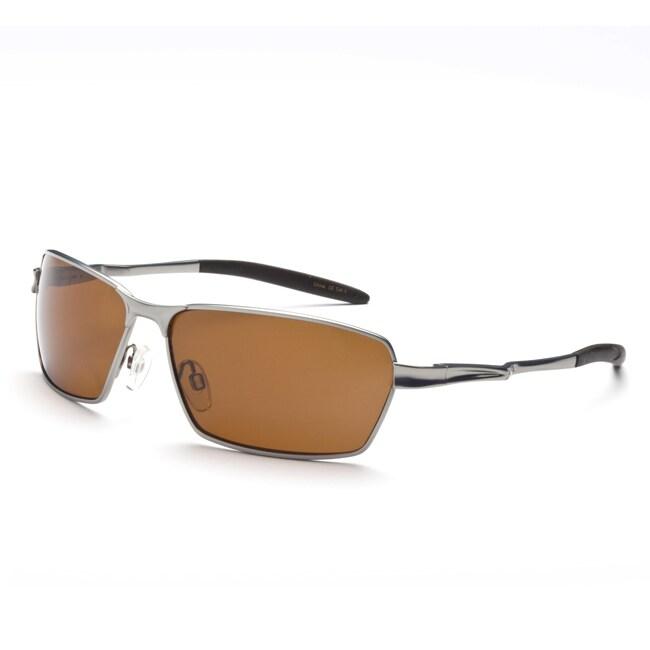 Optic Nerve Men's Axel Matte Gunmetal Polarized Sunglasses