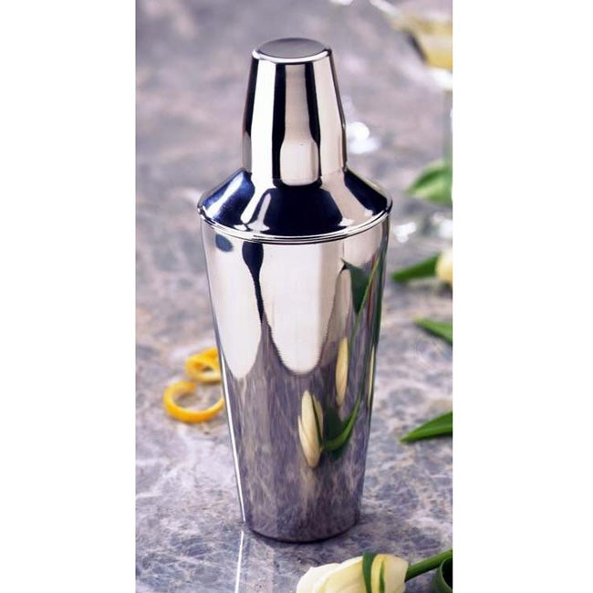 Stainless Steel 3-pc 25-oz Cocktail Shaker