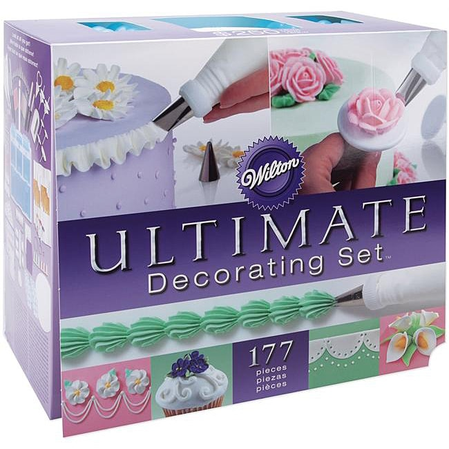 Ultimate Cake Decorating Set - 13128310 - Overstock.com ...