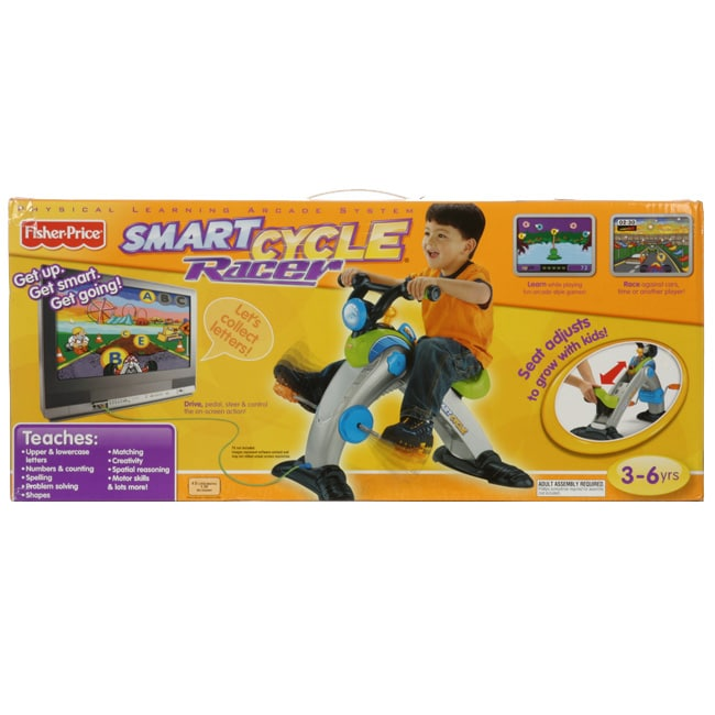 FIsher Price Smart Cycle Racer Educational Game System