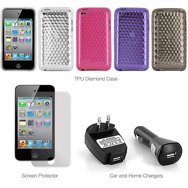 MEElectronics Apple iPod Touch 4 Starter Combo
