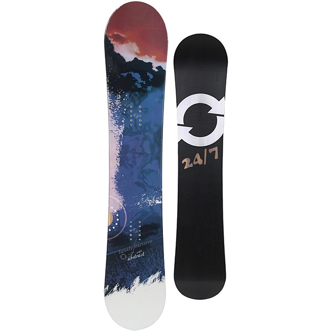 24 Seven Women's 'Abstract' 156-cm Snowboard