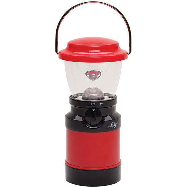 Stansport 8-inch Red 1-watt LED Lantern/ Tent Light