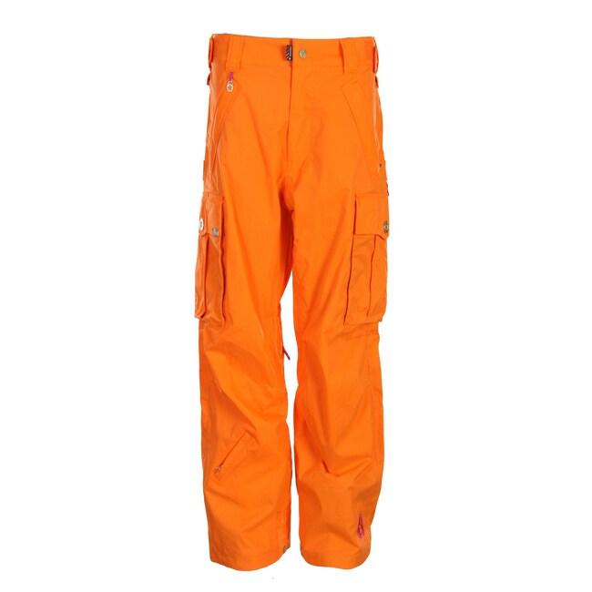 Sessions Women's 'Flight' Orange Cargo Snowboard Pants