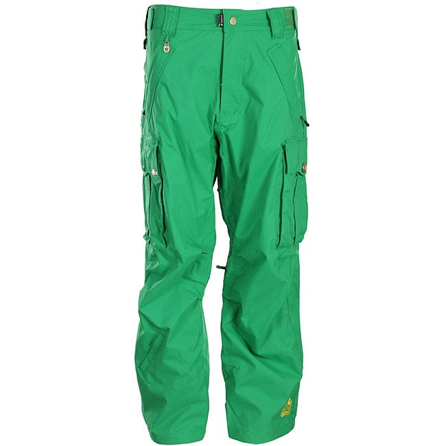 New Home Mens Pants Amp Chinos Cogged Cargo Pants In Green