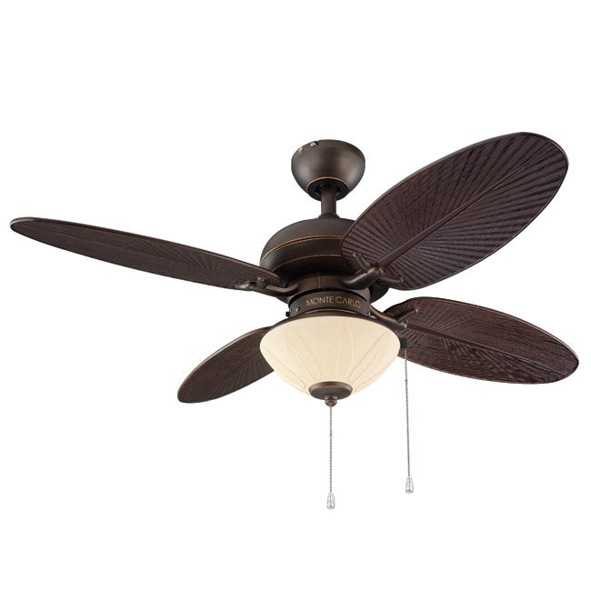 Indoor Outdoor 42 Inch Blade 2 Light Bronze Ceiling Fan