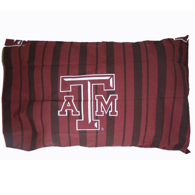 Texas A&M University Aggies King-size Pillowcase