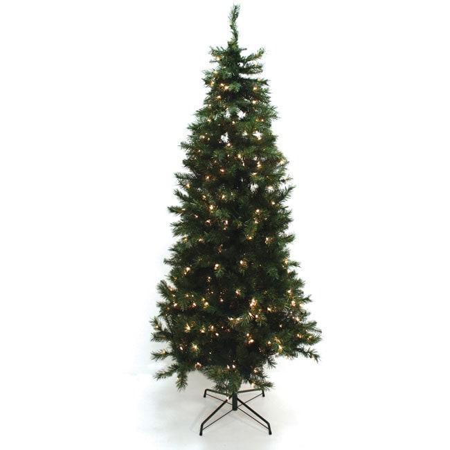 Good Tidings 7.5-feet Dakota Spruce Artificial Prelit Christmas Tree